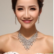 Fashion Crystal Wedding Jewelry Sets