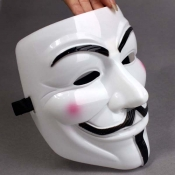 Fashion Halloween Cosplay V-Shape Vendetta Blush M