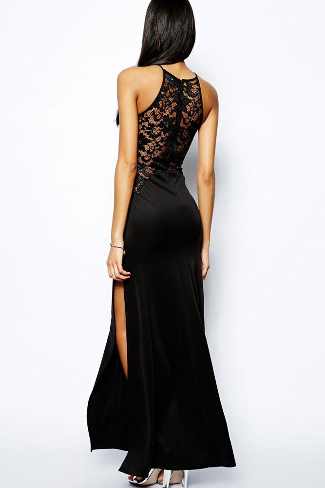 Черное вечернее платье москва