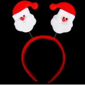 Cheap Fashion Double Santa Claus Shaped Red Christ