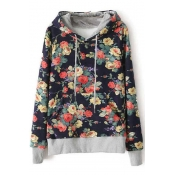 Poppoly  Floral We Know Hooded Sweatshirt