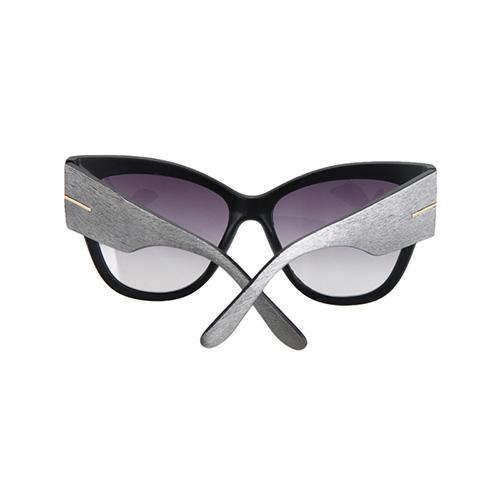 Stylish Big Frame Design Grey PC Sunglasses