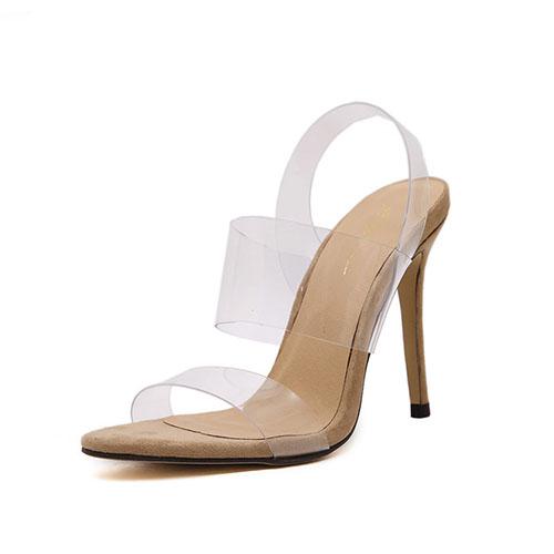 PU Стилет Супер Высокой Моды Сандалии