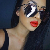 Gafas De Sol De Moda Negro PC
