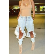Fashion break cowboy jeans
