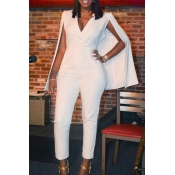 Lovely Twilled Solid Regular Jumpsuits