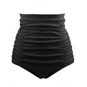 Pantalones cortos atractivos del poliester de la cintura alta