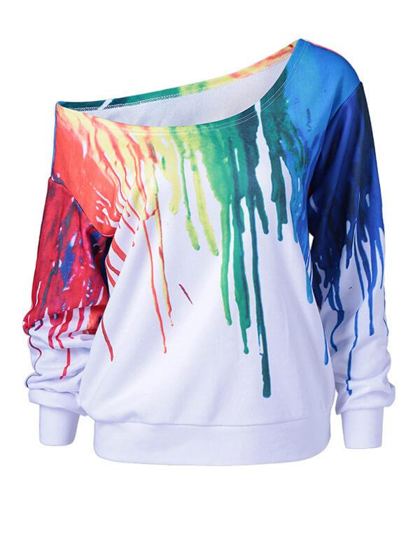 Lovely Cotton Blends Long Sleeve Regular Pullovers Sweats&Hoodies