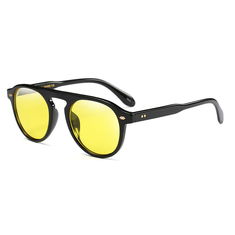 Stylish Yellow PC Sunglasses