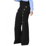 Полиэфирная твердая молния Fly High Regular Pants Pant