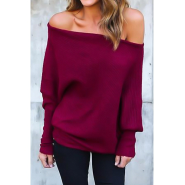 Lovely Polyester O neck Long Sleeve Regular Pullovers Sweaters & Cardigans