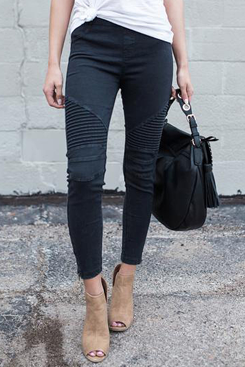 Ready For Anything Zipper Casual Pant<br>