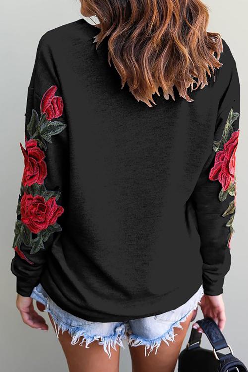 Lovely Casual Regular Long Sleeve Sweats&Hoodies