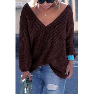 Start Me Up V Neck Sweater