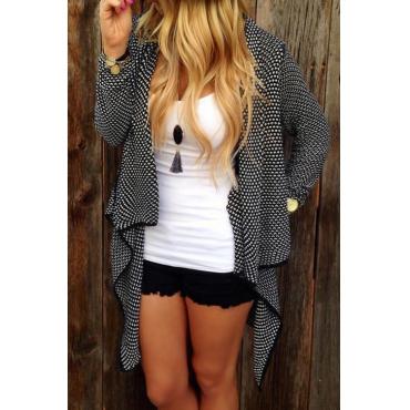 Sutumn Elegance Irregular Knitting Cardigan