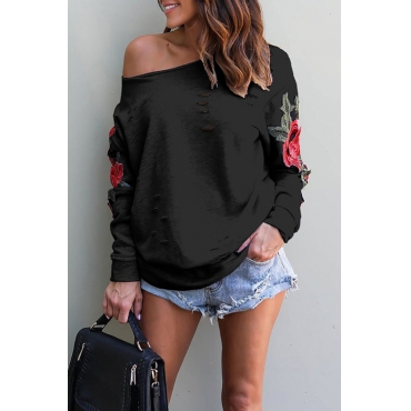 Lovely  Casual  Regular Long Sleeve  Sweats&Hoodies