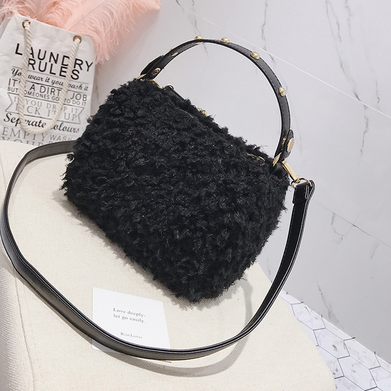 Fashion Zipper Design Polyester Clutches Bags