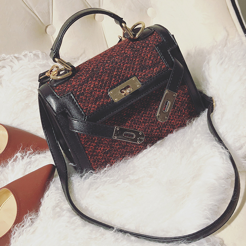 Fashion Zipper Design Red PU Clutches Bags