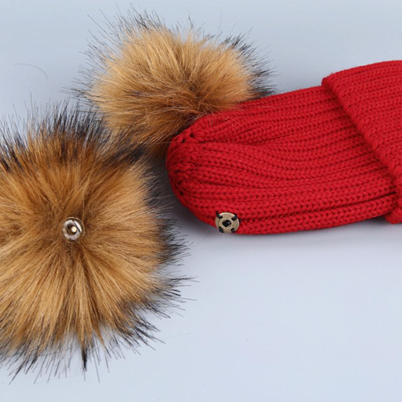Chapéus Acrílicos Vermelhos Decorativos De Bola Euramerican De Maomao