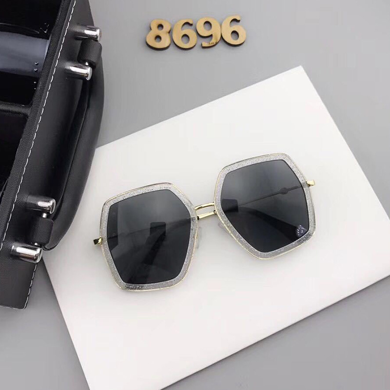 Lovely Casual  Creamy White PC Six Sunglasses