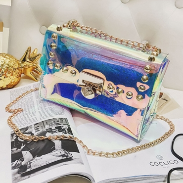 Lovely Fashion Transparency Messenger Bags