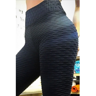 Lovely Euramerican High Waist  Skinny Black Leggings