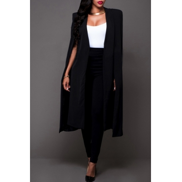 Lovely Euramerican Work Black Blazer