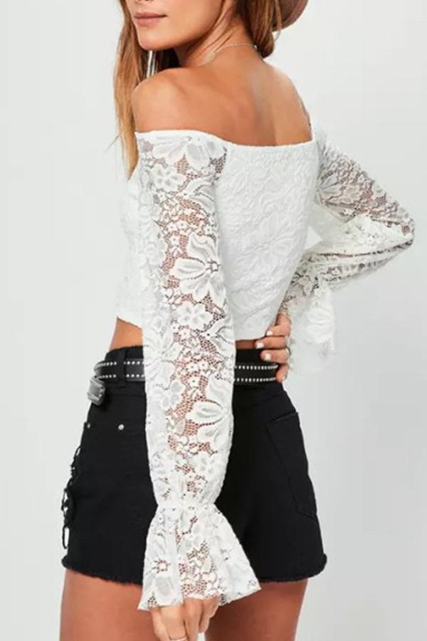 Lovely Euramerican Dew Shoulder White Base Layers