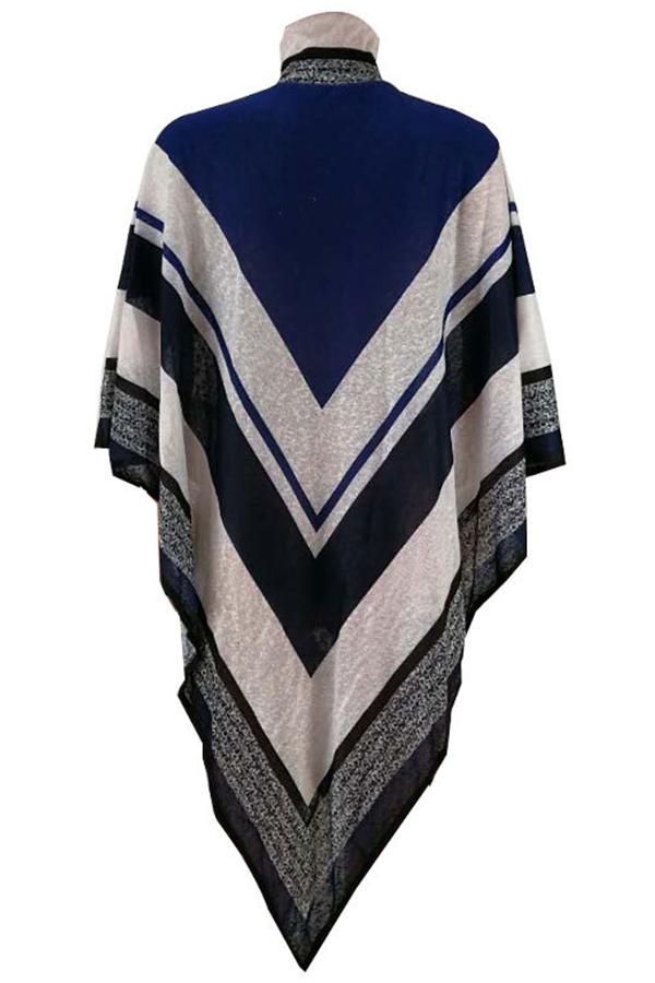 Lovely Trendy Asymmetrical Blue Sweaters