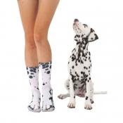 Lovely Chic Animal White Socks