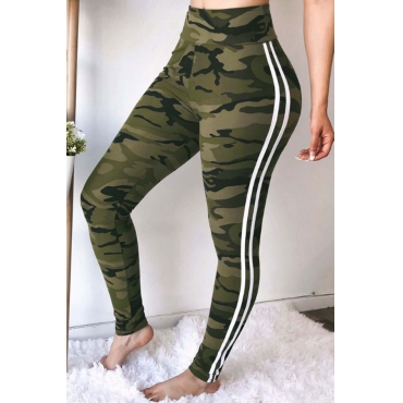 Lovely  Euramerican Camouflage Printed Pants