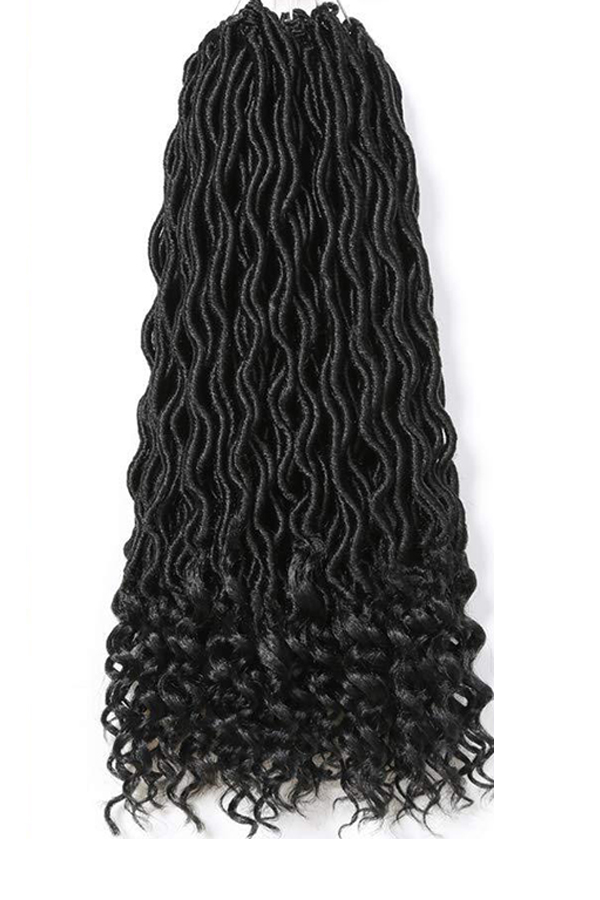 Lovely Fashionable Black Braid Wigs