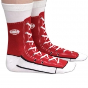 Lovely Fashionable Shoe Red Cotton Blends Socks