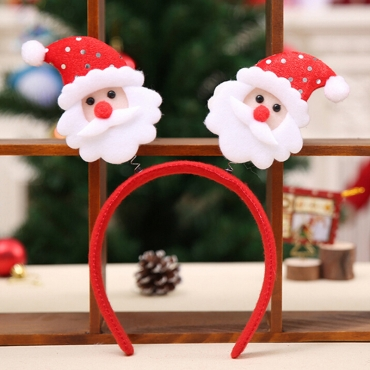 Lovely New Santa Claus Red Hairpin