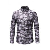 Lovely Work Printed Grey Cotton Shirts