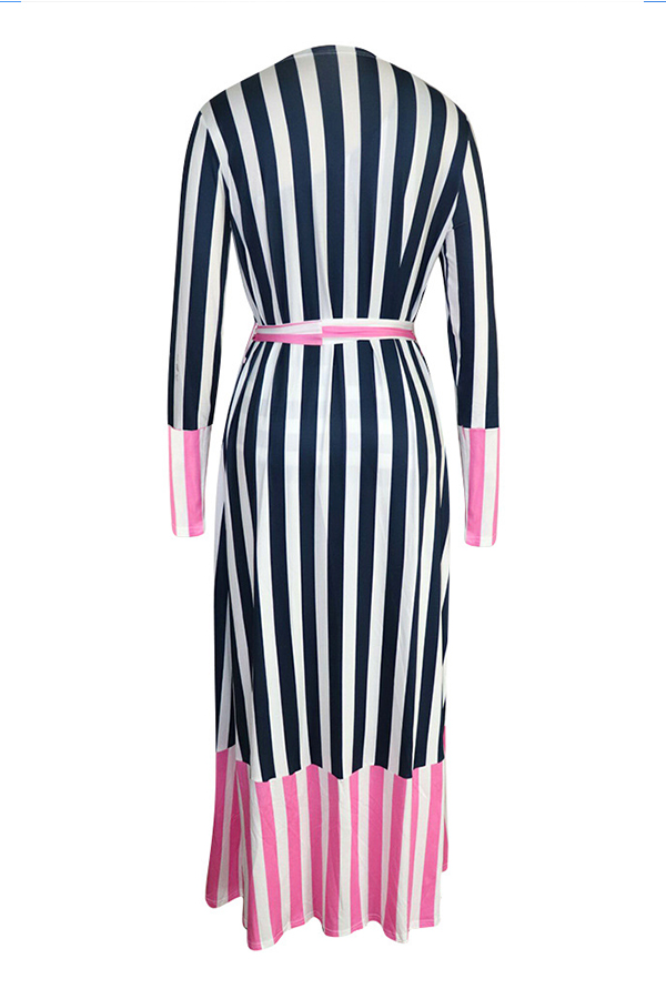 Lovely Bohemian One Shoulder Pink One-piece Swimwears (With CoverUps)