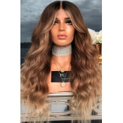 Lovely High Temperature Wire Brown Wigs