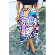 Lovely Casual Print Ankle Length A Line Skirts