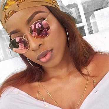 Lovely Fashion Pink PC Sunglasses
