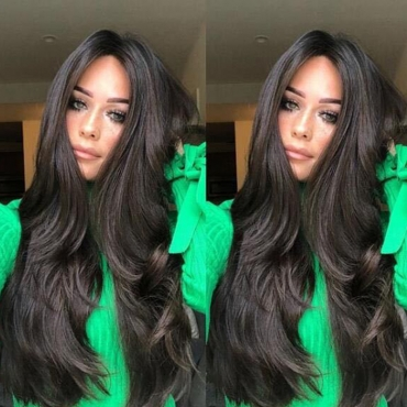 Lovely Fashion Hign-temperature Black Wigs