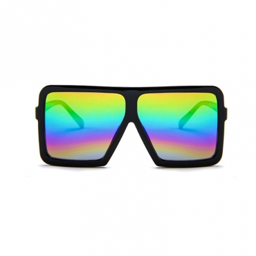 Lovely Stylish Square Frame Design PC Sunglasses