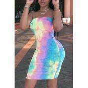Симпатичное Мини-платье С Завязками На Плечах