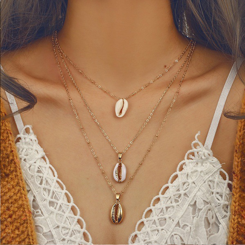 Lovely Bohemian Multi-layer Hollow-out Alloy Necklace