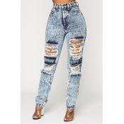 Lovely Trendy Basic Grey Jeans