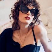 Lovely Fashion Black-grey PC Sunglasses