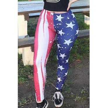 Lovely Trendy Patchwork Printed Pants