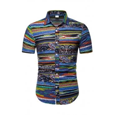 Lovely Bohemian Printed Multicolor Shirt
