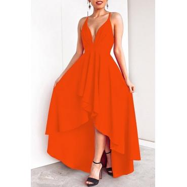 Lovely Casual Asymmetrical Croci Floor Length Prom Dress