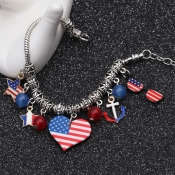 Lovely Independence Day Stylish Printed Patchwork