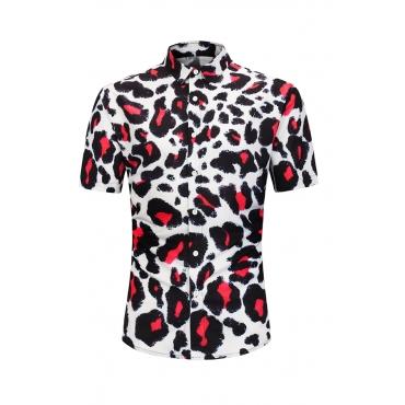 Lovely Trendy Leopard Printed Shirt